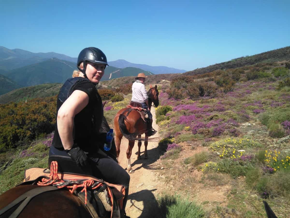 Camino de Santiago Route Horse Riding Trail Holiday in Spain