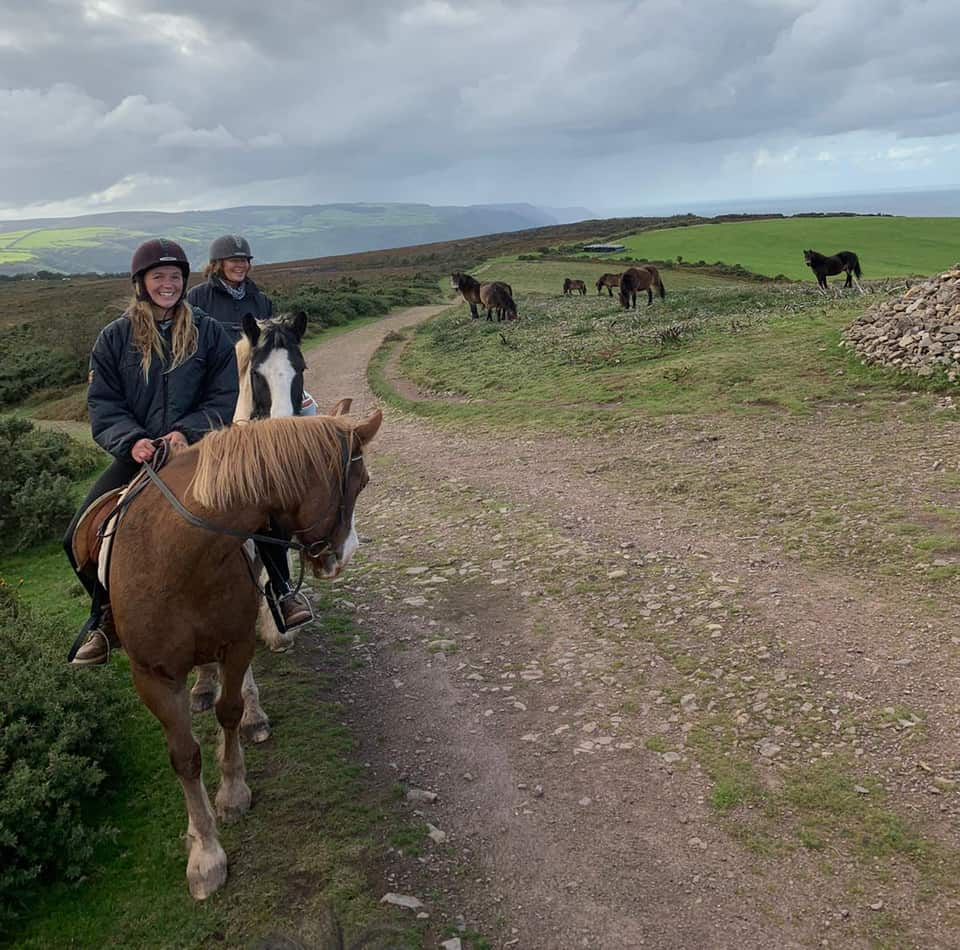 Horse Riding Holiday in Exmoor National Park, UK