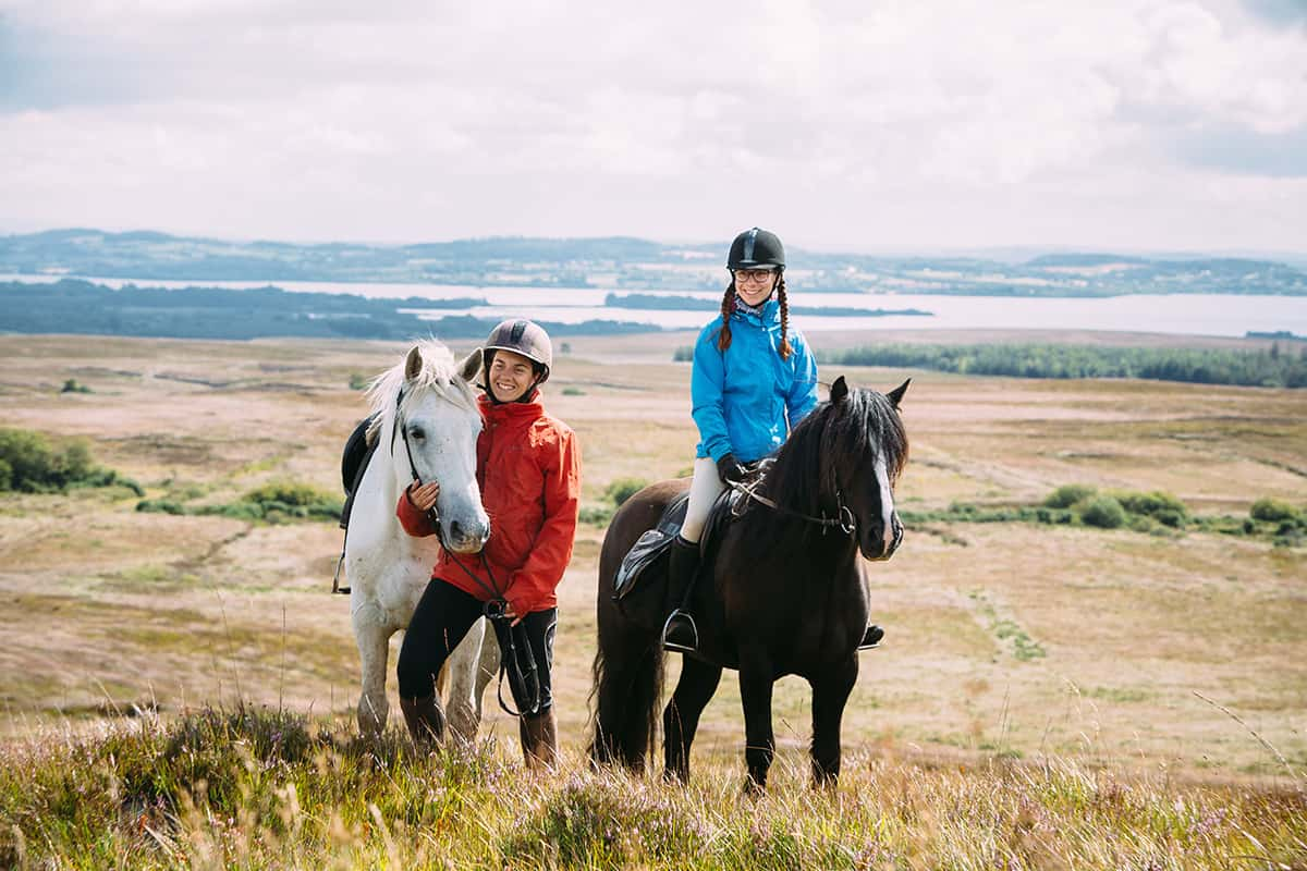 Horse Trail Riding in the West of Ireland